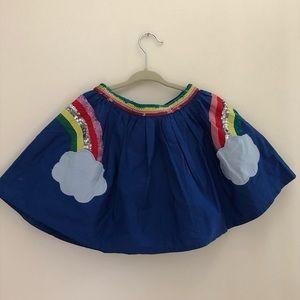 Mini Boden rainbow skirt size 3-4 y/o